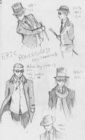 Phantom's Smile- Eric Through The Ages by UNlucky0013