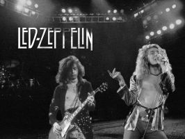 Led Zeppelin Wallpaper by JediDave