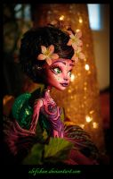 monster high create a monster ooak floresca by clefchan