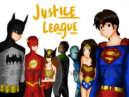 Justice League by AsianDucky
