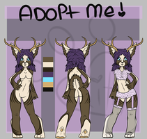 DeerButts Adopt [OPEN] by SnuggieBoo