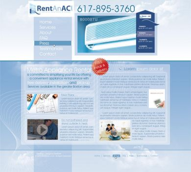 Rent an AC by 1002studio