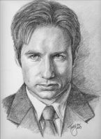 David Duchovny by TerryXart