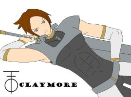 Albert the male claymore by Harry026Husky