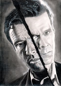 James Purefoy - Kevin Bacon (The Following) by Kyreks
