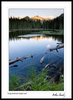 Longs Peak from Nymph Lake by kennedmh