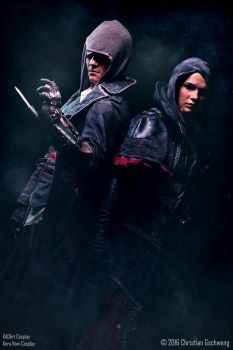 Family / AC Syndicate Jacob and Evie Frye Cosplay by KADArt-Cosplay