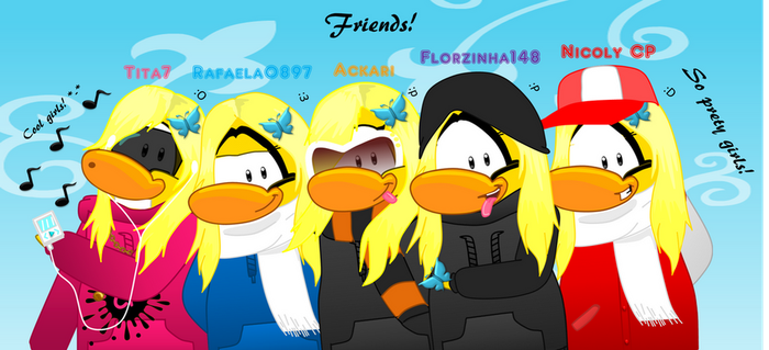 Me and my best friends of Cpps.me by Ackari