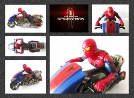 The Amazing Spider-Man  Motorbike by mikedaws