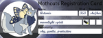 [Mothcats Registration Card] Artemis by lepidopterae