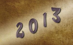 Happy New Year 2013 Wallpaper by whiteroselady