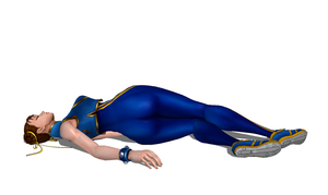 Chun Li (Marvel vs. Capcom 3) Defeated 2 by FallenParty