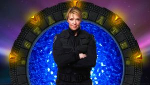 Amanda Tapping Samantha Carter V by Dave-Daring