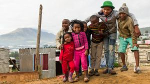 Kids from Enkanini Township South Africa by PasoLibre