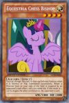 Chess Bishop Twilight Sparkle (MLP): Yu-Gi-Oh Card by PopPixieRex