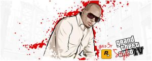 Pitbull Vector Signature by gaz3r