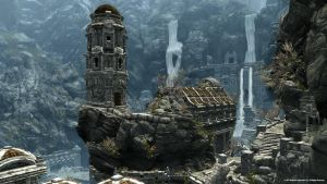 Skyrim Markarth by Minnan2