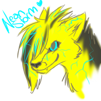 Neon Zappppppy by miaowstic
