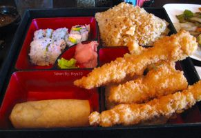 Chicken Tempura Bento Box by VengeanceIsForEver