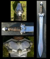Sword with detail. by Leebea