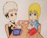 SNK: Study Buddies! by thebigblackdevil5