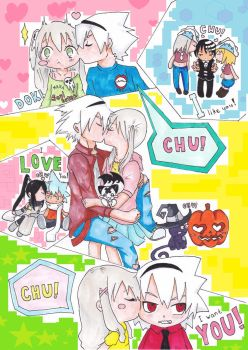 Everybody let's KISS by Mashiro-chi