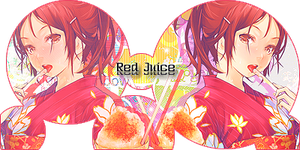 Red Juice Sign by CagBcn