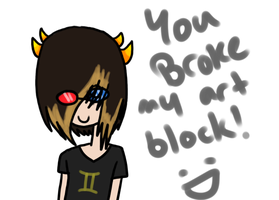 Parker makes a desu Sollux by KannibalPirate
