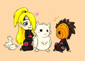 Tobi and Deidara free time! by Becky-KH