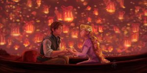Tangled Scene by iancjw