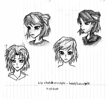 Concept sketch - Lily by Great-5