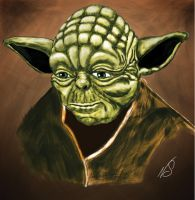 001-Scrap - Wacom Yoda Speedpaint by matrix7