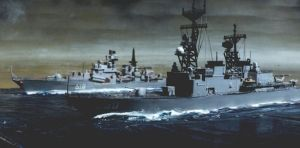 w-s USS Ingersoll and Sovremny c 1990 3 by ZMichaelr2a