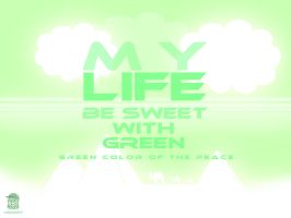 green Peace Color by MazenShehab