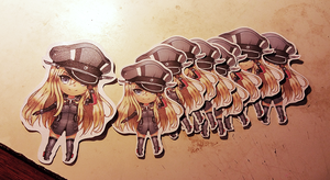 Bismarck Stickers by minteaparty