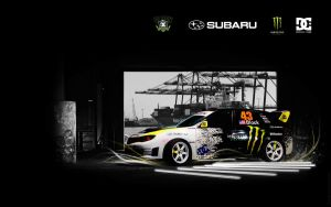 wallpaper 19 gymkhana by zpecter