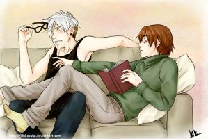 Commission - Hijack PN!AU by Kiki-Asuka