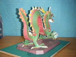 Chinese Luck Dragon Statue 14 by devastator006