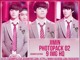 Jimin (BTS) - PHOTOPACK#02 by JeffvinyTwilight