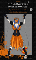 Pokeplat Halloween contest entry 2k12 by kisa-tiger13666