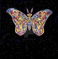 Moth by CliveBarker