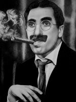 Groucho Marx by zetcom