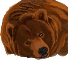 Speedpaint level: bear by VampireDinosaur