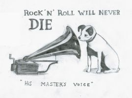 his masters voice by ExcentricSketches4U