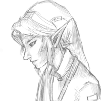 Link Sketch by NovaMirage