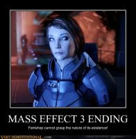 Mass Effect 3 Ending by link-kiral