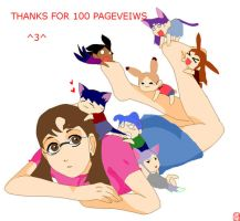 1,000th PAGEVEIWS by iRedRose