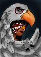 Eagle Warrior Bust by Khimera