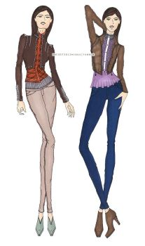 Sam And Dean Winchester-Inspired Fashion Designs by jeealee