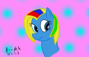 Rainbow Pastel - First Pic Drawn On My Tablet by Rainbow-Pastel
